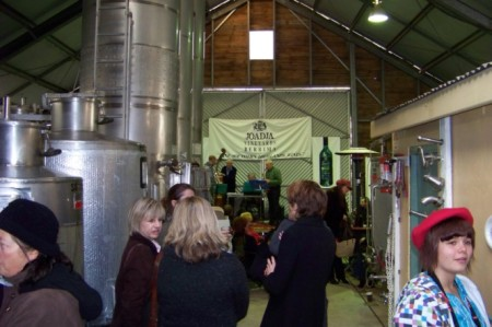 Jazz in the winery