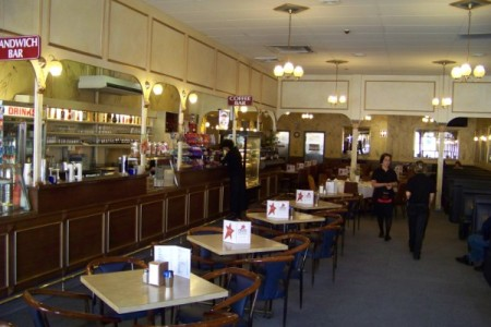 The Parthenon Cafe in Goulburn