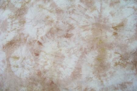 The second layer of natural dye