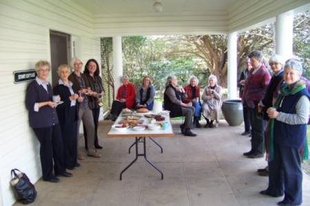The gathering: Afternoon tea on the verandah