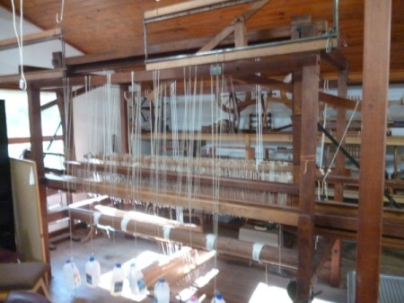 The big loom.