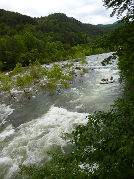 White water rafting. This was the location used for the Atlanta Olympics.
