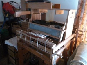 The table loom.