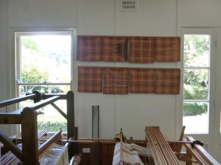 A collection of tartans