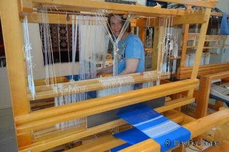 Draw loom weaving | Kay Faulkner's Blog